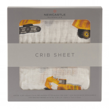 Yellow Digger Crib Sheet by Newcastle Classics in Dublin Ca