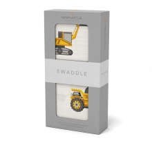 Yellow Digger Swaddle by Newcastle Classics
