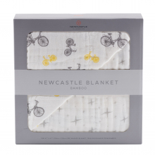 Vintage Bicycle and Northern Star Newcastle Blanket by Newcastle Classics