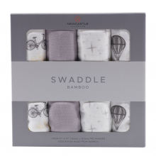 Traveler Swaddle Four Pack by Newcastle Classics