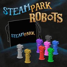 Steam Park: Robots by IELLO