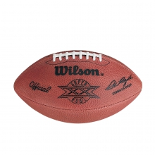 NFL Super Bowl XX Leather Game Football - Official (Pro Pattern) by Wilson