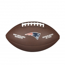 NFL Team Logo Composite Football - Official, New England Patriots by Wilson