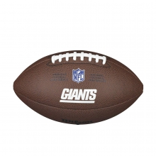 NFL Team Logo Composite Football - Official, New York Giants by Wilson