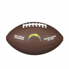 NFL Team Logo Composite Football - Official, San Diego Chargers by Wilson