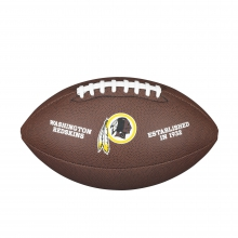 NFL Team Logo Composite Football - Official, Washington Redskins
