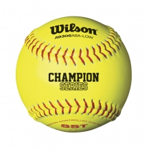 ASA Synthetic Leather Cork Softballs - 12 Pack by Wilson