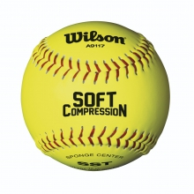 Ultra Grip Soft Compression Softballs by Wilson
