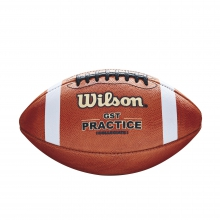 1003 GST Leather Practice Football by Wilson