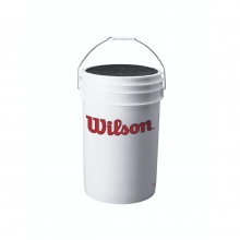 Wilson Ball Bucket with Cushion Lid by Wilson