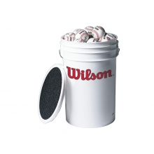 A1010S Baseballs in Bucket by Wilson