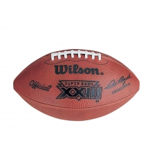 NFL Super Bowl XXIII Leather Game Football (Pro Pattern) by Wilson