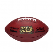 NFL Super Bowl XLI Leather Game Football (Pro Pattern) by Wilson