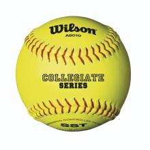 Collegiate Ploycore Softballs by Wilson
