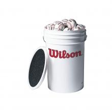 A1030 Baseballs In Bucket by Wilson