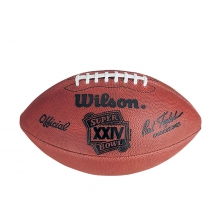 NFL Super Bowl XXIV Leather Game Football (Pro Pattern) by Wilson