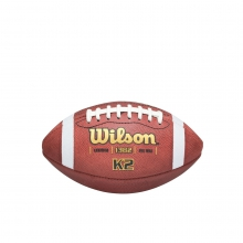 K2 Traditional Leather Football - Pee Wee by Wilson