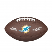 NFL Team Logo Composite Football - Official, Miami Dolphins