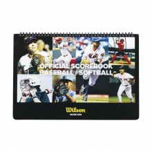 Baseball & Softball Scorebook by Wilson