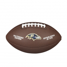 NFL Team Logo Composite Football - Official, Baltimore Ravens by Wilson