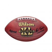 NFL Super Bowl XL Leather Game Football (Pro Pattern) by Wilson