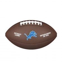 NFL Team Logo Composite Football - Official, Detroit Lions by Wilson