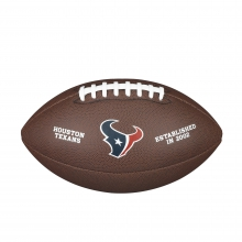NFL Team Logo Composite Football - Official, Houston Texans by Wilson