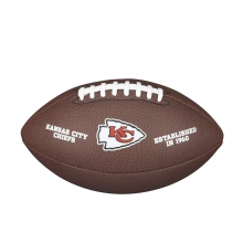NFL Team Logo Composite Football - Official, Kansas City Chiefs