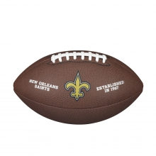 NFL Team Logo Composite Football - Official, New Orleans Saints by Wilson