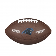 NFL Team Logo Composite Football - Official, Carolina Panthers by Wilson