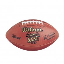 NFL Super Bowl XXXI Leather Game Football - Official (Pro Pattern) by Wilson