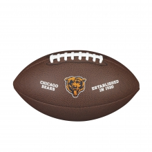 NFL Team Logo Composite Football - Official, Chicago Bears by Wilson