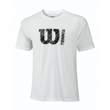 W Court Logo Tech Tee by Wilson