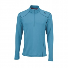 Fall nVision Zip Neck Long Sleeve by Wilson
