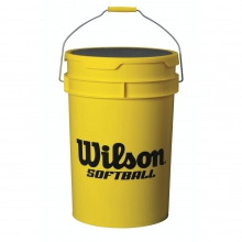 Wilson Yellow Ball Bucket by Wilson