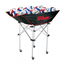 Volleyball Stand Up Ball Cart by Wilson