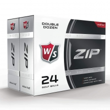 Staff Zip Golf Balls by Wilson