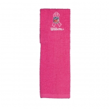 Pink Football Field Towel by Wilson