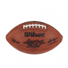 Super Bowl XIV Game Football - Pittsburgh Steelers by Wilson