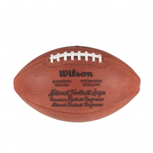 NFL Super Bowl IX Leather Game Football (Pro Pattern) by Wilson