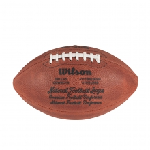 NFL Super Bowl X Leather Game Football (Pro Pattern) by Wilson