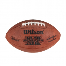 Super Bowl XVIII Game Football - Los Angeles Raiders by Wilson