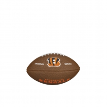 NFL Team Logo Mini Size Football - Cincinnati Bengals by Wilson