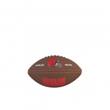 NFL Team Logo Mini Size Football - Cleveland Browns by Wilson