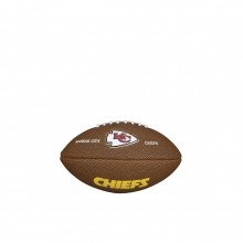 NFL Team Logo Mini Size Football - Kansas City Chiefs by Wilson