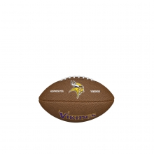 NFL Team Logo Mini Size Football - Minnesotta Vikings by Wilson