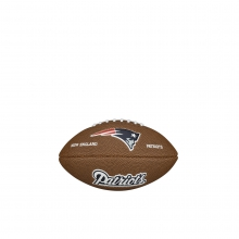 NFL Team Logo Mini Size Football - New England Patriots by Wilson