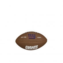 NFL Team Logo Mini Size Football - New York Giants by Wilson