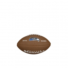 NFL Team Logo Mini Size Football - Seattle Seahawks by Wilson