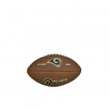 NFL Team Logo Mini Size Football - St. Louis Rams by Wilson